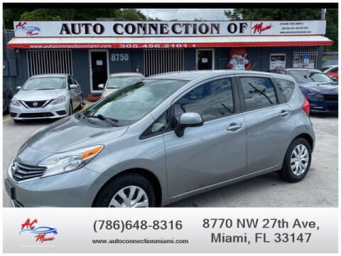 2014 Nissan Versa Note for sale at 1000 Cars Plus Boats - Lot 9 in Miami FL