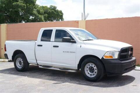 2012 RAM Ram Pickup 1500 for sale at 1000 Cars Plus Boats - Lot 7 in Miami FL