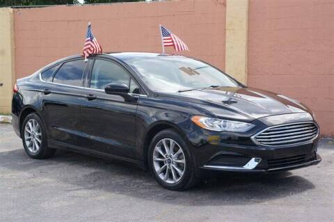 2017 Ford Fusion for sale at 1000 Cars Plus Boats - Lot 7 in Miami FL
