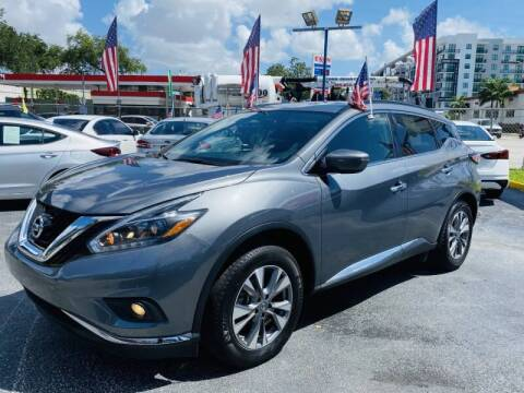 2018 Nissan Murano for sale at 1000 Cars Plus Boats - Lot 6 in Miami FL