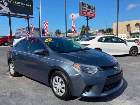 2016 Toyota Corolla for sale at 1000 Cars Plus Boats - Lot 14 in Miami FL
