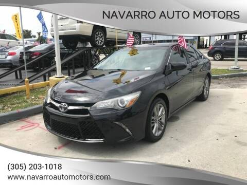 2015 Toyota Camry for sale at 1000 Cars Plus Boats - Lot 15 in Hialeah FL