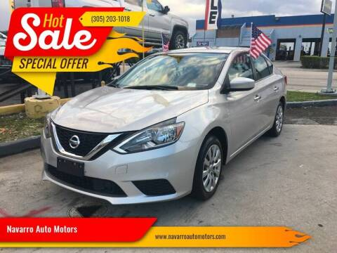 2018 Nissan Sentra for sale at 1000 Cars Plus Boats - Lot 15 in Hialeah FL