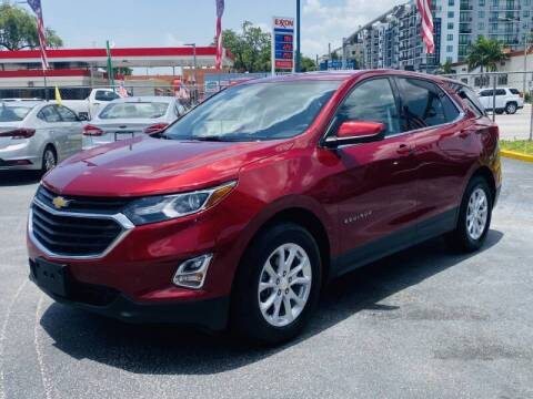 2018 Chevrolet Equinox for sale at 1000 Cars Plus Boats - Lot 6 in Miami FL
