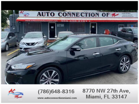 2020 Nissan Maxima for sale at 1000 Cars Plus Boats - Lot 9 in Miami FL
