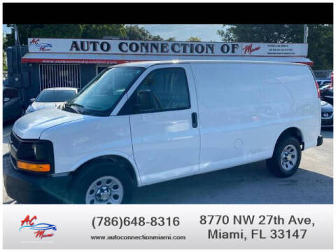 2012 Chevrolet Express Cargo for sale at 1000 Cars Plus Boats - Lot 9 in Miami FL