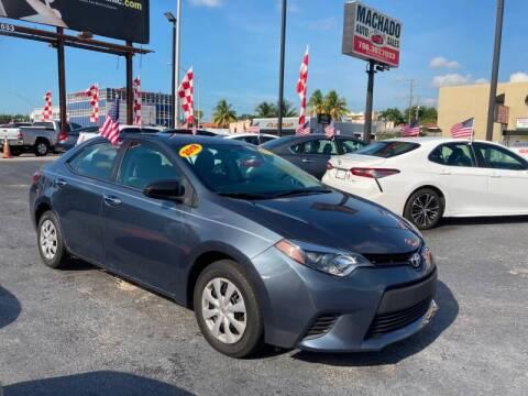2014 Toyota Corolla for sale at 1000 Cars Plus Boats - Lot 14 in Miami FL