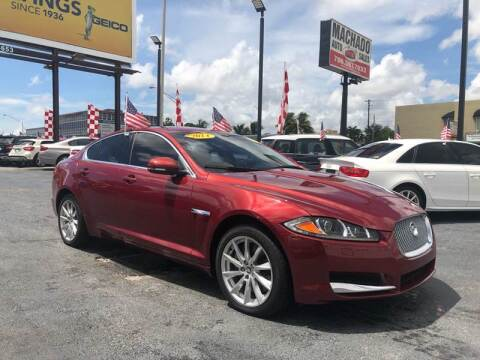 2013 Jaguar XF for sale at 1000 Cars Plus Boats - Lot 14 in Miami FL