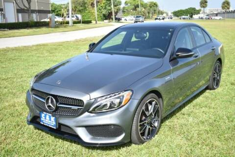 2017 Mercedes-Benz C-Class for sale at 1000 Cars Plus Boats - LOT 3 in Miami FL