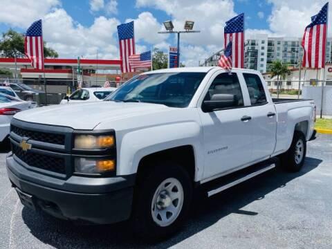 2014 Chevrolet Silverado 1500 for sale at 1000 Cars Plus Boats - Lot 6 in Miami FL
