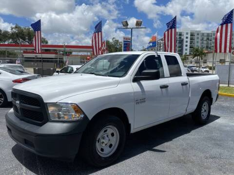2016 RAM Ram Pickup 1500 for sale at 1000 Cars Plus Boats - Lot 6 in Miami FL