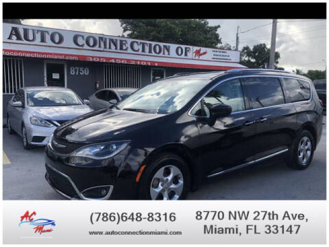 2017 Chrysler Pacifica for sale at 1000 Cars Plus Boats - Lot 9 in Miami FL