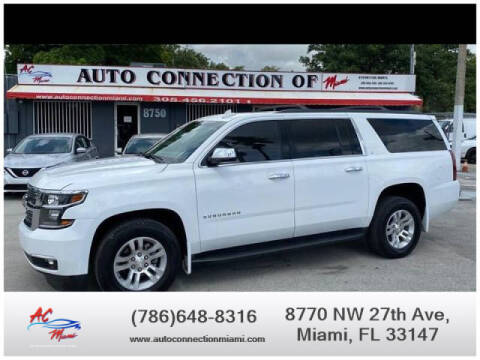 2017 Chevrolet Suburban for sale at 1000 Cars Plus Boats - Lot 9 in Miami FL