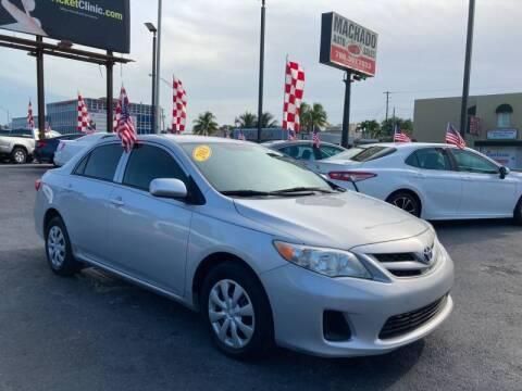 2013 Toyota Corolla for sale at 1000 Cars Plus Boats - Lot 14 in Miami FL