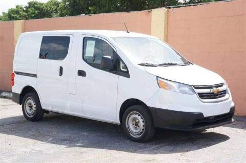 2016 Chevrolet City Express Cargo for sale at 1000 Cars Plus Boats - Lot 7 in Miami FL