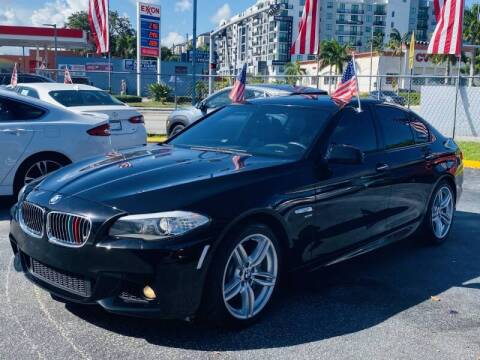 2012 BMW 5 Series for sale at 1000 Cars Plus Boats - Lot 6 in Miami FL