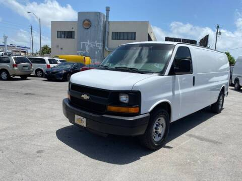 2013 Chevrolet Express Cargo for sale at 1000 Cars Plus Boats in Miami FL