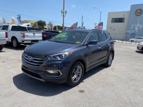 2017 Hyundai Santa Fe Sport for sale at 1000 Cars Plus Boats in Miami FL