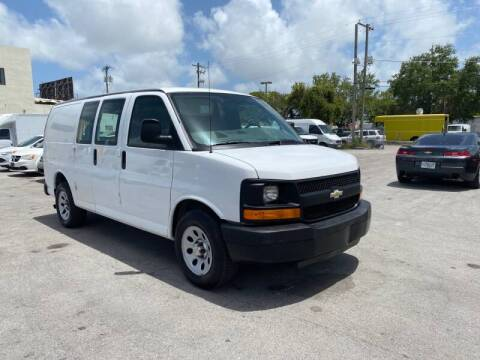 2012 Chevrolet Express Cargo for sale at 1000 Cars Plus Boats in Miami FL