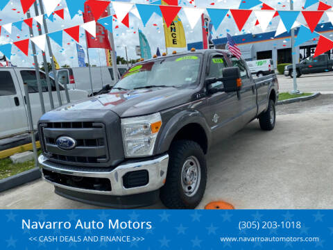 2011 Ford F-250 Super Duty for sale at 1000 Cars Plus Boats - Lot 15 in Hialeah FL