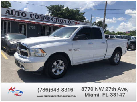 2018 RAM Ram Pickup 1500 for sale at 1000 Cars Plus Boats - Lot 9 in Miami FL