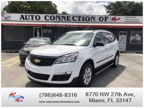 2017 Chevrolet Traverse for sale at 1000 Cars Plus Boats - Lot 9 in Miami FL