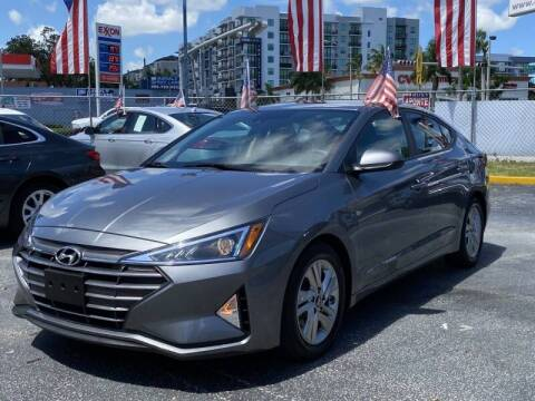 2019 Hyundai Elantra for sale at 1000 Cars Plus Boats - Lot 6 in Miami FL