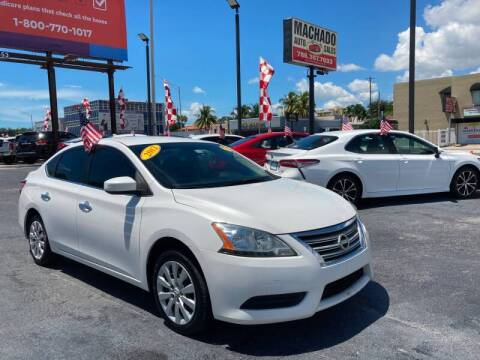 2013 Nissan Sentra for sale at 1000 Cars Plus Boats - Lot 14 in Miami FL