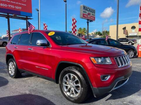 2014 Jeep Grand Cherokee for sale at 1000 Cars Plus Boats - Lot 14 in Miami FL