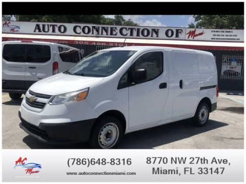 2015 Chevrolet City Express Cargo for sale at 1000 Cars Plus Boats - Lot 9 in Miami FL