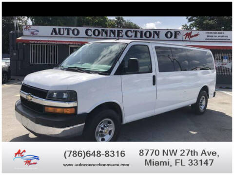 2015 Chevrolet Express Passenger for sale at 1000 Cars Plus Boats - Lot 9 in Miami FL
