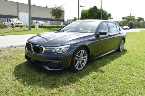 2017 BMW 7 Series for sale at 1000 Cars Plus Boats - LOT 3 in Miami FL