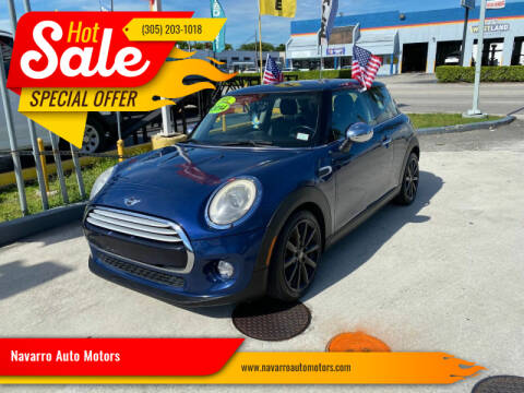 2014 MINI Hardtop for sale at 1000 Cars Plus Boats - Lot 15 in Hialeah FL