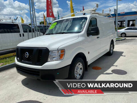 2016 Nissan NV Cargo for sale at 1000 Cars Plus Boats - Lot 15 in Hialeah FL