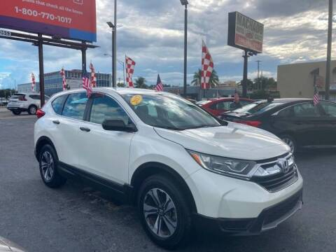 2017 Honda CR-V for sale at 1000 Cars Plus Boats - Lot 14 in Miami FL