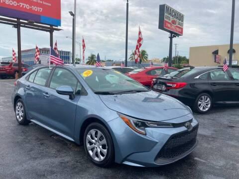 2020 Toyota Corolla for sale at 1000 Cars Plus Boats - Lot 14 in Miami FL