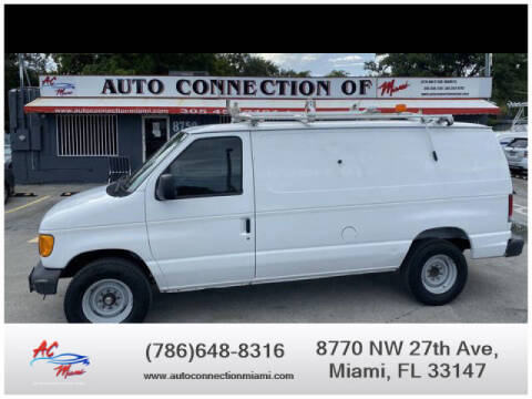 2007 Ford E-Series Cargo for sale at 1000 Cars Plus Boats - Lot 9 in Miami FL