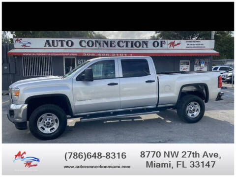 2015 GMC Sierra 2500HD for sale at 1000 Cars Plus Boats - Lot 9 in Miami FL