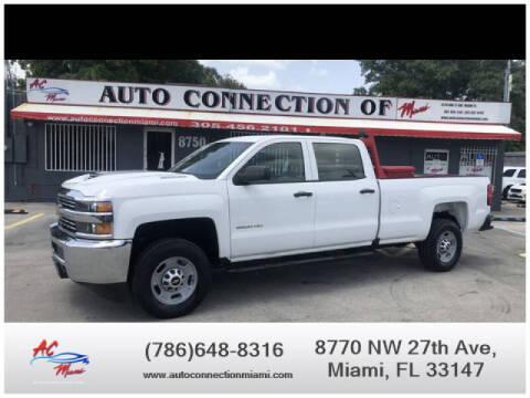 2017 Chevrolet Silverado 2500HD for sale at 1000 Cars Plus Boats - Lot 9 in Miami FL
