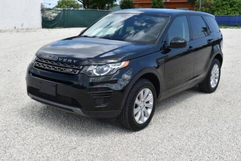 2016 Land Rover Discovery Sport for sale at 1000 Cars Plus Boats - LOT 3 in Miami FL