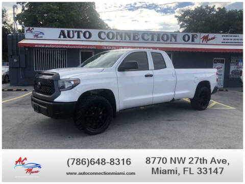 2018 Toyota Tundra for sale at 1000 Cars Plus Boats - Lot 9 in Miami FL
