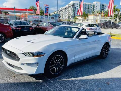 2019 Ford Mustang for sale at 1000 Cars Plus Boats - Lot 6 in Miami FL