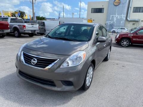 2014 Nissan Versa for sale at 1000 Cars Plus Boats in Miami FL