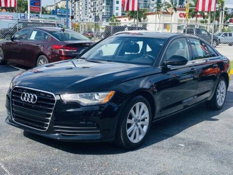 2014 Audi A6 for sale at 1000 Cars Plus Boats - Lot 6 in Miami FL