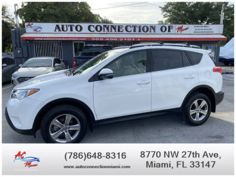 2015 Toyota RAV4 for sale at 1000 Cars Plus Boats - Lot 9 in Miami FL