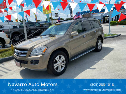 2008 Mercedes-Benz GL-Class for sale at 1000 Cars Plus Boats - Lot 15 in Hialeah FL