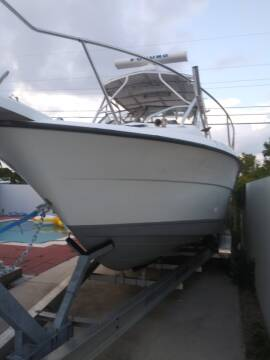 2005 Bayliner Trophy 25 ft. Walkaround for sale at 1000 Cars Plus Boats - LOT 5 in Miami FL