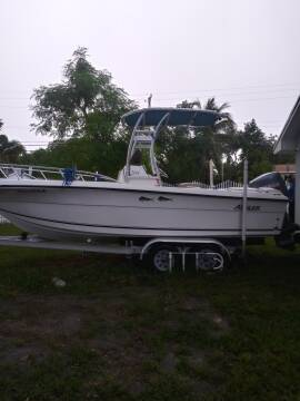 2000 Angler 21 Ft. Open Fisherman for sale at 1000 Cars Plus Boats - LOT 5 in Miami FL