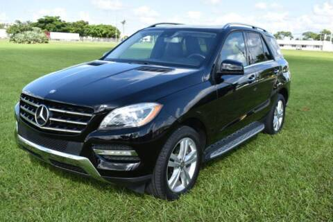 2014 Mercedes-Benz M-Class for sale at 1000 Cars Plus Boats - LOT 3 in Miami FL