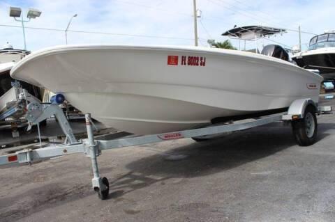 2015 Boston Whaler 150 Super S     C(561)573-4196 for sale at 1000 Cars Plus Boats - LOT 5 in Miami FL